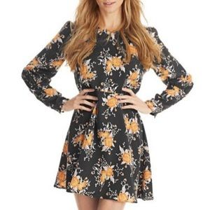 Free People Parker Floral Dress